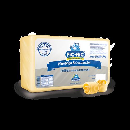 Manteiga Extra Sem Sal
